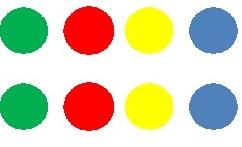 Twister dots